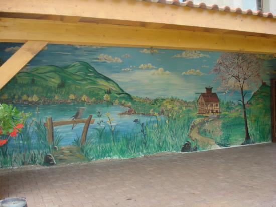 Fresque murale  29 m2