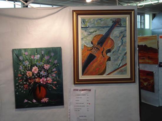 N°221   Le bouquet -    N° 220 Le violon  -