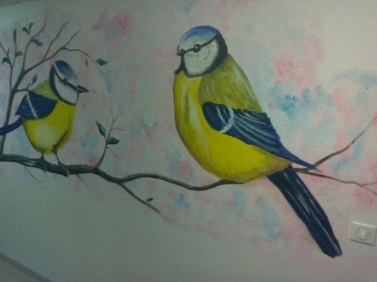Les mésanges (fresques)